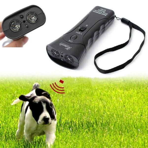 Отпугиватель собак МТ-651 с лазером и LED фонариком