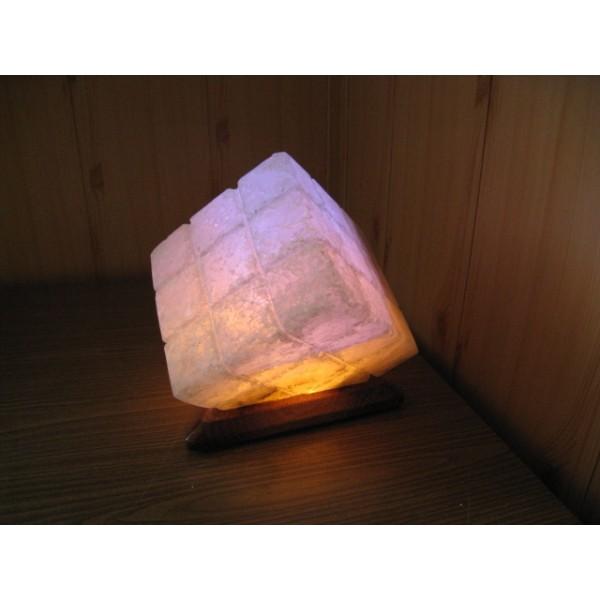 Солевой светильник Куб большой